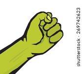 freedom revolution concept.... | Shutterstock .eps vector #269742623