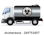 car transports biohazardous...   Shutterstock .eps vector #269751857