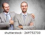 smiling businessman... | Shutterstock . vector #269752733