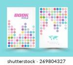 vector cover template design... | Shutterstock .eps vector #269804327
