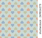 vintage seamless pattern of ... | Shutterstock .eps vector #269816273