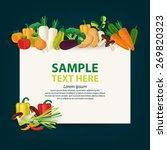 vegetables vector illustration. | Shutterstock .eps vector #269820323