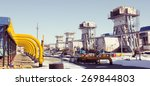gas plant | Shutterstock . vector #269844803