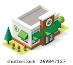 vector isometric icon...   Shutterstock .eps vector #269847137