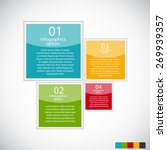 infographic templates for... | Shutterstock .eps vector #269939357