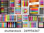colorful modern text box... | Shutterstock .eps vector #269956367