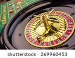 the cylinder of a roulette... | Shutterstock . vector #269960453