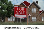 home for sale real estate sign... | Shutterstock . vector #269993453