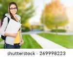 student  college student ... | Shutterstock . vector #269998223