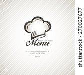 light menu for the restaurant. | Shutterstock .eps vector #270027677
