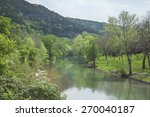 the guadalupe river below... | Shutterstock . vector #270040187