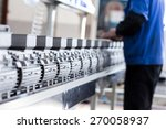 newly manufactured spare parts... | Shutterstock . vector #270058937