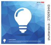 light bulb icon. creative idea...