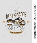 vector logotype of vintage... | Shutterstock .eps vector #270272687