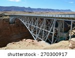 the right of dual bridges ... | Shutterstock . vector #270300917