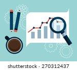 seo concept design  vector... | Shutterstock .eps vector #270312437