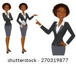 business woman | Shutterstock .eps vector #270319877