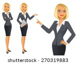 business woman | Shutterstock .eps vector #270319883