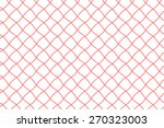 Seamless Fishing Net Pattern O...