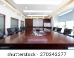 fuzzy conference room | Shutterstock . vector #270343277