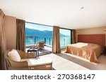 modern architecture  interior ...   Shutterstock . vector #270368147