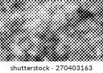grunge halftone vector... | Shutterstock .eps vector #270403163