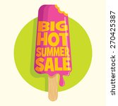 summer sale design template | Shutterstock .eps vector #270425387