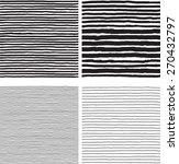 hatch  patterns. vector... | Shutterstock .eps vector #270432797