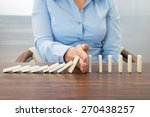 close up of businesswoman... | Shutterstock . vector #270438257