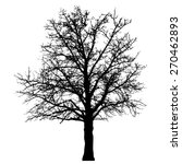 tree vector illustration. | Shutterstock .eps vector #270462893