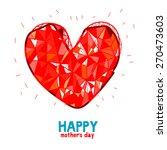 mother's day illustration | Shutterstock .eps vector #270473603