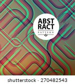 Abstract Retro Background For...