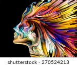 colors of imagination series.... | Shutterstock . vector #270524213
