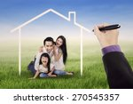 cheerful asian family laughing...   Shutterstock . vector #270545357