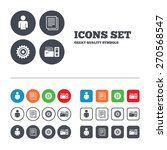 accounting workflow icons.... | Shutterstock .eps vector #270568547