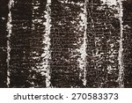 subtle cracked paint pattern on ... | Shutterstock . vector #270583373