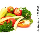 fresh fruits and vegetables... | Shutterstock . vector #27058891