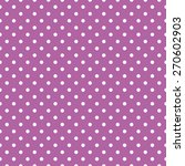 Purple Polka Dot Background...