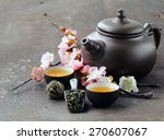 Tea Set  Teapot  Cups And...