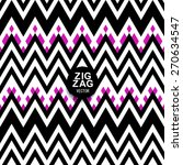 A Chevron Zigzag Striped...