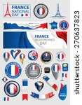 made in france seal collection  ... | Shutterstock .eps vector #270637823