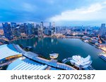 singapore view with urban... | Shutterstock . vector #270702587
