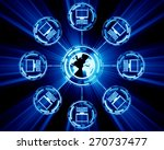 technology concept | Shutterstock . vector #270737477