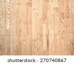 brown parqueted floor  wooden...   Shutterstock .eps vector #270740867