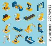 Isometric Robot Machinery...