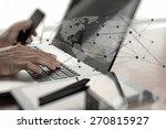 close up of business man hand...   Shutterstock . vector #270815927