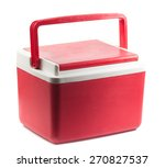 Handheld Red Refrigerator