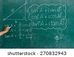 hand writing mathematics