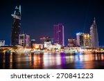 Cityscape Of Ho Chi Minh At...