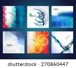 vector web and mobile interface ... | Shutterstock .eps vector #270860447